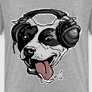 Pit Bull Headphones - Kids' Premium T-Shirt
