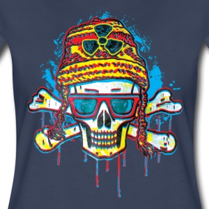 Rad Skull Winter Beanie - Women's Premium T-Shirt