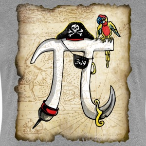 Pirate Pi Day 2 - Women's Premium T-Shirt