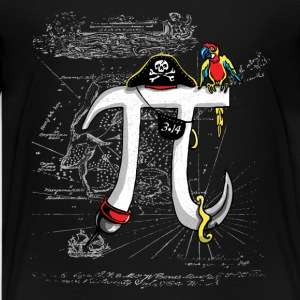 Pirate Pi Day 21 - Kids' Premium T-Shirt