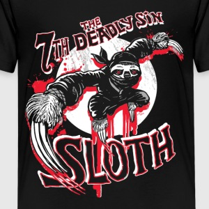 7th Deadliest Ninja Sloth - Kids' Premium T-Shirt