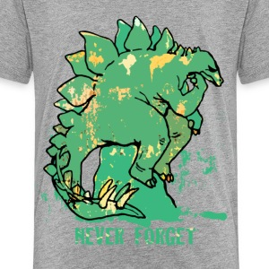 Never Forget Stegosaurus - Kids' Premium T-Shirt