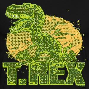 T Rex Big Dot - Men's Premium T-Shirt