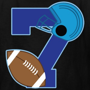 7th Birthday Football 7 Kids' Shirts - Kids' T-Shirt