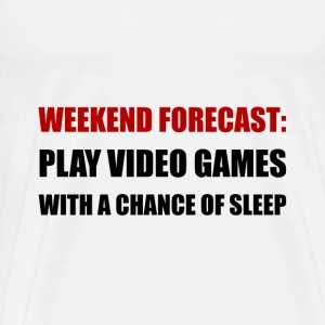 Play Video Games Sleep - Men's Premium T-Shirt
