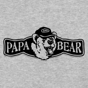 Papa Bear logo - Baseball T-Shirt