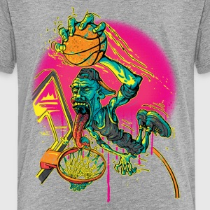 Ballin' Hoops Slam - Kids' Premium T-Shirt