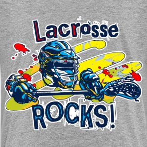 Lacrosse Rocks - Kids' Premium T-Shirt