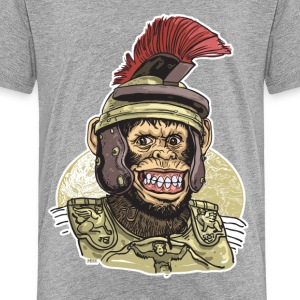 Roman Chimp Caesar - Kids' Premium T-Shirt