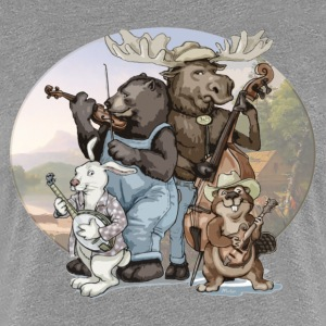 Blue Grass Critters - Women's Premium T-Shirt