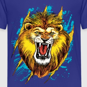 Alpha Lion Roars - Kids' Premium T-Shirt