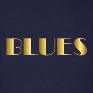 golden blues - Men's T-Shirt