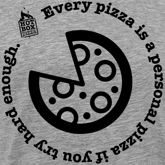 Personal Pan Pizza.