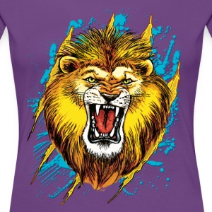 Alpha Lion Roars - Women's Premium T-Shirt