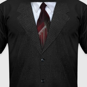 Suit v2 - Men's T-Shirt by American Apparel