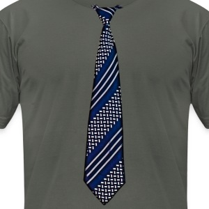 tie 5 - Men's T-Shirt by American Apparel