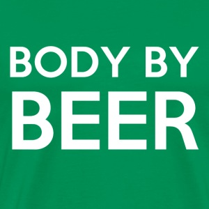 Body By Beer - Men's Premium T-Shirt
