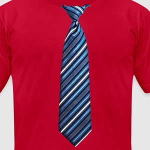 tie 3 - Men's T-Shirt by American Apparel