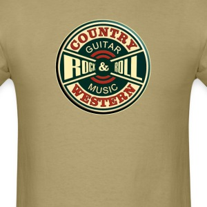 Country Western Rock'roll - Men's T-Shirt