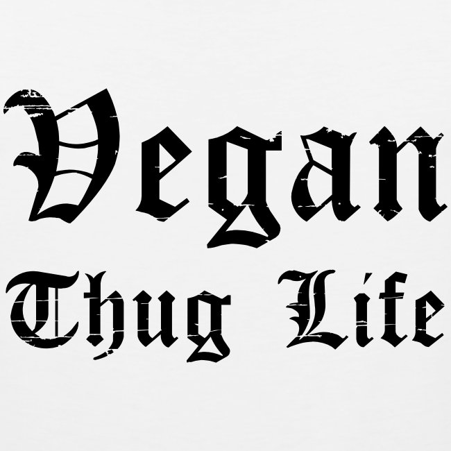 Men's Vegan Thug Life Tank Top