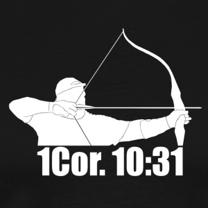Traditional Archery For God's Glory! T-Shirts - Men's Premium T-Shirt