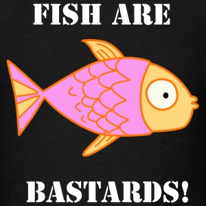 Fish Are Bastards Men's Tee - Men's T-Shirt
