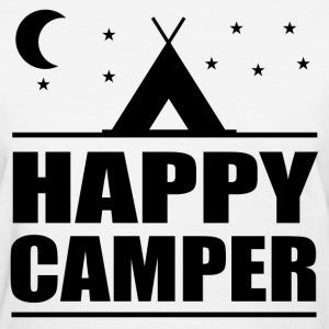 HAPPY CAMPER9.png T-Shirts - Women's T-Shirt