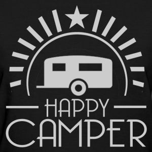 HAPPY CAMPER7.png T-Shirts - Women's T-Shirt