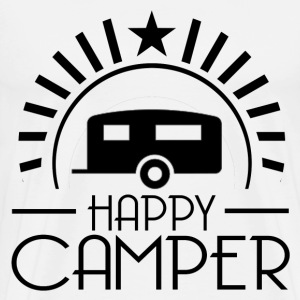 HAPPY CAMPER6.png T-Shirts - Men's Premium T-Shirt
