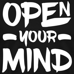 Open Your Mind T-Shirts - Men's Premium T-Shirt