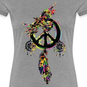 Peace dream cather Women's Premium T-Shirt - Women's Premium T-Shirt