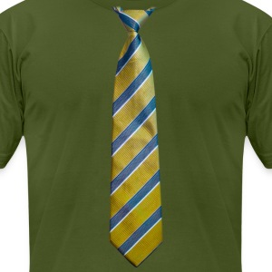 tie_4 - Men's T-Shirt by American Apparel