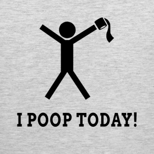 I POOP TODAY! Sportswear - Men's Premium Tank
