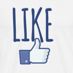 LIKE (FACEBOOK) T-Shirts - Men's Premium T-Shirt