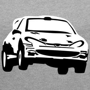 Rally car, racing car T-Shirts - Women´s Roll Cuff T-Shirt