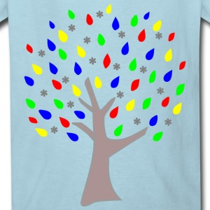 Memory Tree Primary Colors Kids' Shirts - Kids' T-Shirt