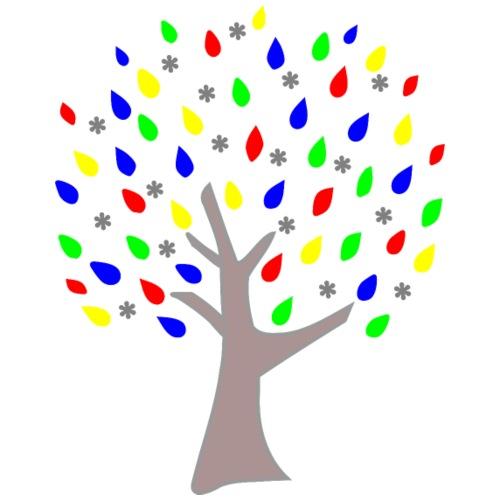 Memory Tree Primary Colors