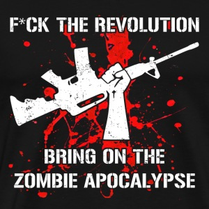 Bring On The Zombie Apocalypse - Men's Premium T-Shirt