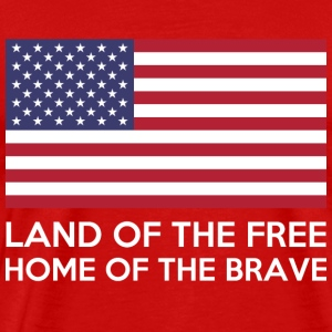 Land Of The Free - Men's Premium T-Shirt