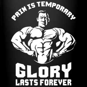 Pain Is Temporary. Glory Lasts Forever. Mugs & Drinkware - Full Color Mug