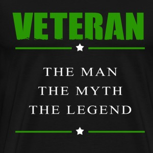 veteran hero - The man, the myth, the legend - Men's Premium T-Shirt