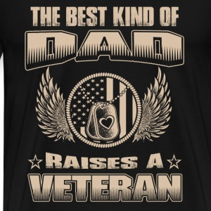 Raise a veteran - The best kind of daddy - Men's Premium T-Shirt