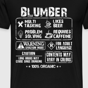 Plumber - Plumber multi tasking awesome tee - Men's Premium T-Shirt