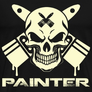 Painter - Awesome t-shirt for painting lovers - Men's Premium T-Shirt