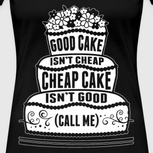 birthday cake, pancakes, jaffa cake, strawberry sh - Women's Premium T-Shirt