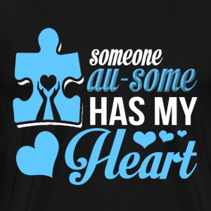I Love You - Someone awesome has my heart - Men's Premium T-Shirt