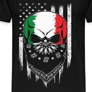 Italian - Italian living in america awesome Tshirt - Men's Premium T-Shirt