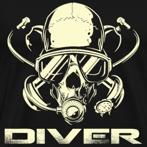 Diver - Awesome t-shirt for diving lovers - Men's Premium T-Shirt