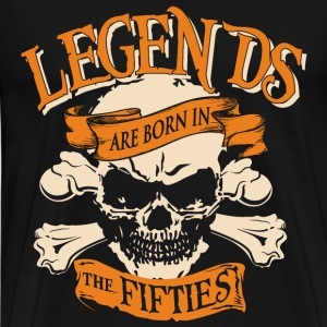 Fifties - Legends are born in the fifties t - shir - Men's Premium T-Shirt