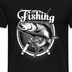 Fishing - Just one more cast I promise - Men's Premium T-Shirt